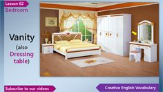 7 Best Bedroom Vocabulary Images Bedroom Designs Free English