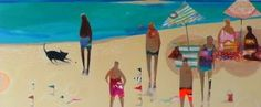 Australian artist, Becky Blair's very original beach scenes --painted with acrylic on canvas. To see more of her work, go to...