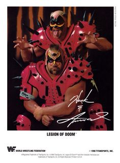 1990 Legion of Doom promo Wrestling Superstars, Wrestling Wwe, Wcw Wrestlers, Wwe Pictures, Color Pictures, The Road Warriors, Wwe Wallpapers, Professional Wrestling, Undertaker Wwe