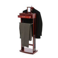 The Red Barrel Studio® Jewelry Valet Stand is just the perfect item to systematically organize your accessories like car keys, wallets, iPods, office keys, pens, clothing and important documents all at one place to help you get prepared. <br/><br/>It is very common for all of us to lose track of small items after a long day and when we have to look for those things again the next morning, it's quite an effort. But this Jewelry Valet Stand from Red Barrel Studio® is the p...