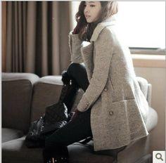 2014 woolen overcoats Korean Fashion Slim new winter coat thick woolen Free Shipping http://www.aliexpress.com/store/product/2014-woolen-overcoats-Korean-Fashion-Slim-new-winter-coat-thick-woolen-Free-Shipping/237979_1593533788.html