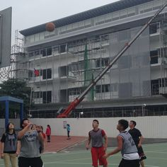 They play all together as a basketball team. This is how we know that they are going to make up with the construction background. This can also mean that we have a new life. Also, we can have the deal for the basketball contest as we begin the Sports Day in KAS during the very end of the day!