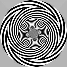 Distorted reality  In my opinion, this is the most impressive illusion for today. Look at the picture below for 30-40 seconds. However, make sure not to look at it for more than one minute!    Then look at your palm or at the objects around you. Don't worry, it will last only for a few seconds