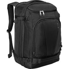 164c279f16aff eBags Mother Lode TLS Weekender Convertible (Solid Black)  Amazon.co.uk