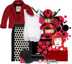 """Seeing Spots..."" by becksd78 ❤ liked on Polyvore"