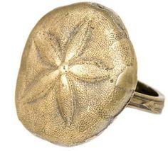 ShopStyle: Alkemie Jewelry Sand Dollar Ring