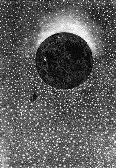 Jules Verne Autour de la lune (1868-69) 26. Rien ne pouvait égaler la splendeur … 44 illustrations by Émile-Antoine Bayard and Alphonse de Neuville