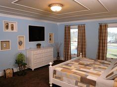 Unique and contemporary bedroom recessed wall niche decoration ideas