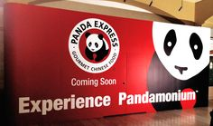 #PandaExpress announces it's upcoming opening on their modular #barricade. #cspdisplay