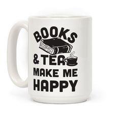 Books & Tea Make Me Happy Mug