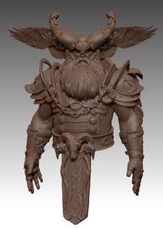 Odin by Sam Greenwell   Fantasy   3D   CGSociety