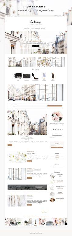 Eclair Designs - Wordpress theme - Cashmere