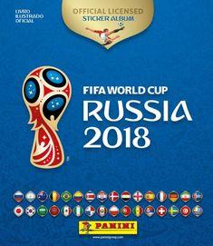 123e22f277 Panini lança álbum de figurinhas oficial da Copa do Mundo 2018