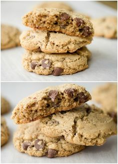 Gluten Free Brown Butter Chocolate Chip Cookies - promise you won't miss the gluten!