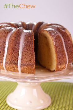 Granny& Five-Flavor Pound Cake packs a punch that will leave your tastebuds wanting more! Five Flavor Pound Cake, Pound Cake Recipes, Almond Pound Cakes, The Chew Recipes, Sweet Recipes, Healthy Recipes, Just Desserts, Delicious Desserts, Southern Desserts