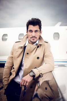 Photographer: Ian Derry / Hair Stylist: Larry King / Model: David Gandy