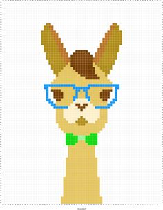 Llama graph for blanket. Stitch Fiddle is an online crochet, knitting and cr… Llama graph for blanket. Stitch Fiddle is an online crochet, knitting and cr…,stitching – Llama & Alpaca Llama graph. Crochet Cross, Crochet Chart, Crochet Bags, Crochet Stitches, Beading Patterns, Embroidery Patterns, Knitting Patterns, Cross Stitch Pattern Maker, Cross Stitch Patterns