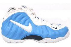 university blue white foamposites pro sneakers online