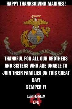 Today and every day, thank you for your dedication to our great country. Semper Fi!