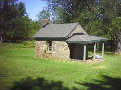 The Smoke House at the Milltown Farm in Waterford. Circa 1765. ~~hh/