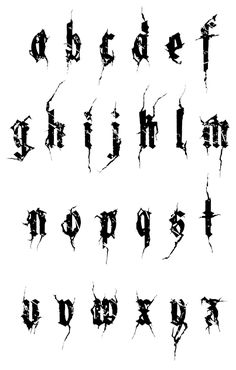 heavy metal font - Recherche Google