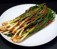 파김치 ~ green onion kimchi