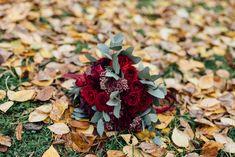 #букет #невеста #марсала #розы #эвкалипт