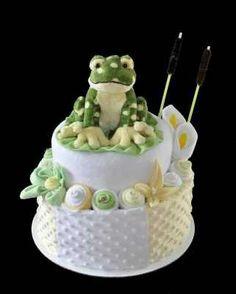 how to make a square diaper cake