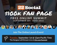 Limited Time Access: Experts show you simple strategies to get results with your Fan Page. Register now for instant free access, bonus giveaways and big prizes!