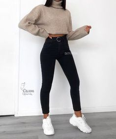 simply beauty teenager outfits ideas for the flawless look 5 ~ thereds. Teenager Outfits, Outfits For Teens, Easy School Outfits, Winter School Outfits, Popular Outfits, Cute Comfy Outfits, Simple Outfits, Stylish Outfits, Classy Outfits