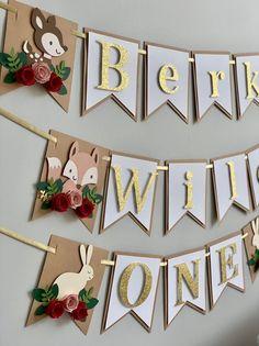 Dentelle blanche mariage Papier Bunting Vintage Papillons Floral Bunting Bannière Guirlande
