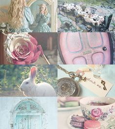 Fairy Tale Picspam → Alice in Wonderland