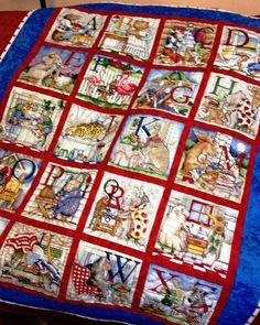 ABC panel quilt