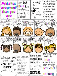 Growth Mindset Posters FREEBIE (Includes: b&w to use as Coloring Pages) Social Emotional Learning, Social Skills, Classroom Organization, Classroom Management, Behaviour Management, Classroom Decor, Growth Mindset Posters, Visible Learning, Classroom Behavior