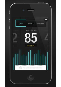 Envato Sales App Mobile User Interface Design Inspiration
