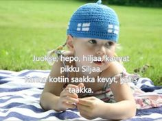 IHAHAA (Suomen lastenlauluja - Finnish children's songs) Kids Songs, Finland, Lyrics, Crochet Hats, Children, Om, Youtube, Knitting Hats, Young Children