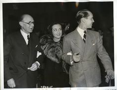 Joan with Franchot and his dad