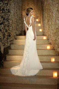 Stella York Wedding Dress.  Beautiful for a beach wedding.