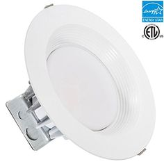 8-inch LED Recessed Retrofit Downlight, 25w, 5000k, 2000 lumens, Day White, Round Lens, ETL listed, EnergyStar, Dimmable