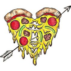 not really word art but I love this! Pizza Tattoo, Pizza Art, Pizza Planet, Pesto Pizza, I Love Pizza, Pizza Restaurant, Food Drawing, Pizza Recipes, Word Art