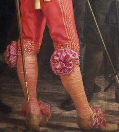 Detail from Schutters van wijk VIII in Amsterdam onder leiding van kapitein Roelof Bicker (Militia of District VIII under the Command of Captain Roelof Bicker) by Bartholomeus van der Helst, 1643. Rijksmuseum, Amsterdam