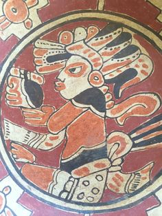 A personal favorite from my Etsy shop https://www.etsy.com/listing/478932983/mayan-ceramic-plate-el-salvador