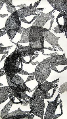 l'illustratrice Lieke Van der Vors ! Si son nom ne vous dit rien, vous avez sûrement déjà vu l'une de ses illustrations car elle a réalisé la couverture du très beau magazine Frankie Issue 58. Cette jeune artiste néerlandaise
