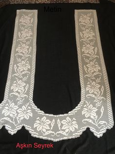 HUZUR SOKAĞI (Yaşamaya Değer Hobiler) Lace Tops, Crochet Doilies, Towels, Farmhouse Rugs, Fabrics, Bern, Crochet Throw Pattern, Lace, Table Runners