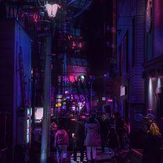 Harajuku Nights / 原宿 / Monsoon Night / 00:39:16 /  #neotokyo #tokyo #night #neon #streetphotography #street #cyberpunk #vaporwave #harajuku