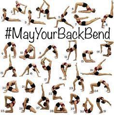 bend yoga challenge