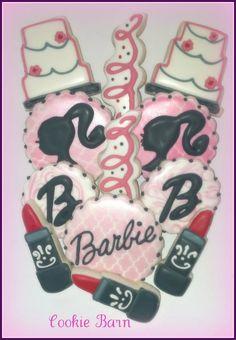 Barbie Birthday Cookies
