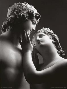 Venere e Adone , escultura de Antonio Canova quien fue uno de los más grande escultores de su tiempo en Europa: