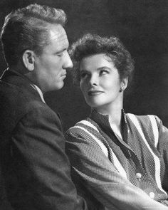 Spencer Tracy and Katharine Hepburn - Legends!