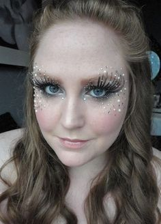 glitter makeup ideas for a butterfly costume - Google Search